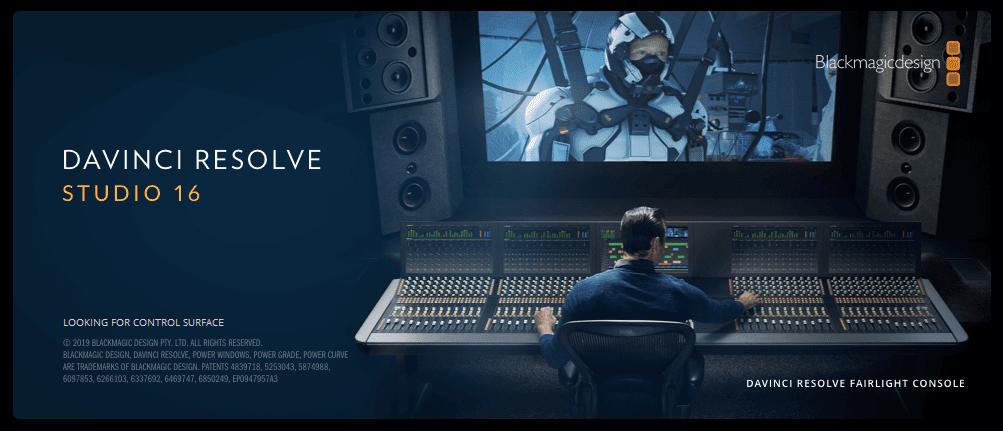 Mac/Win DaVinci Resolve Studio 16.1.1 Full Version